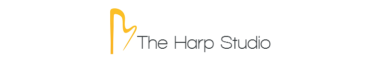 The Harp Studio, site logo.
