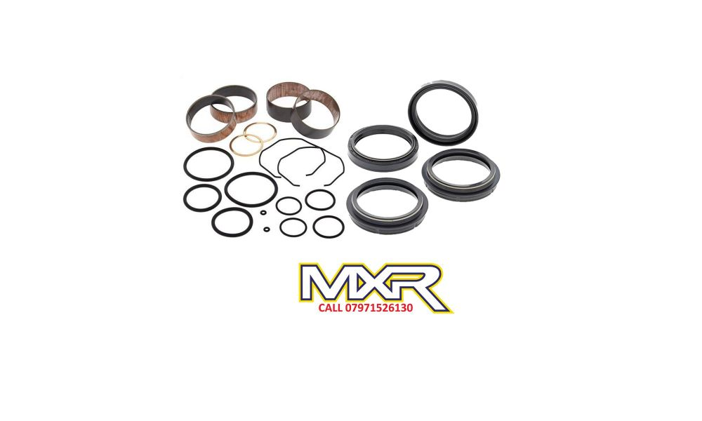 ALL BALLS FORK BUSHING KIT AND FORK OIL AND DUST SEALS