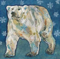 Polar Bear Blues - Embellished Print