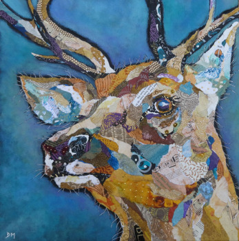 Red Deer Buck II - Large Print