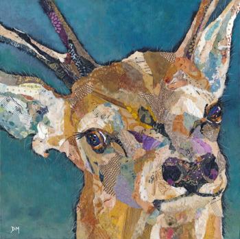 Red Deer Buck - Large Print