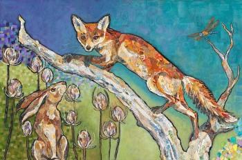 Aesop's Garden - Embellished Print