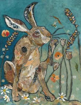 Scratcher - Hare Art Print