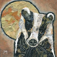 <!-- 007 --> Badger & Moon - Small/Med Print