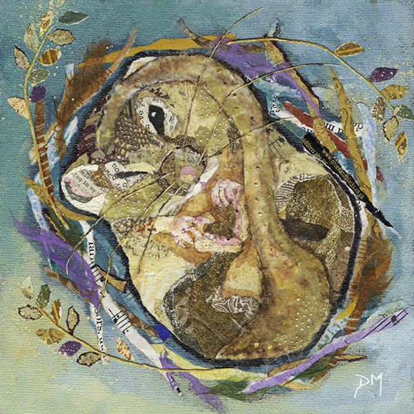 Dormouse Sleeping- Small Print