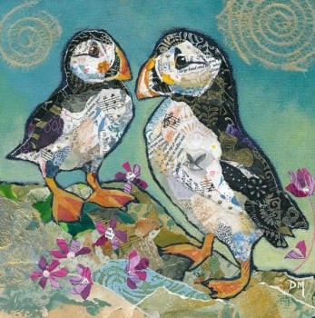 Puffin Pals - Medium Print