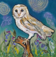 Barn Owl - Medium Print