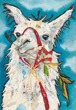Llama Rhu - Medium Print