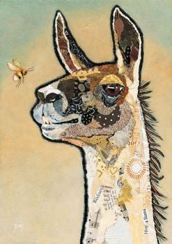 Llama Rodney - Medium Print