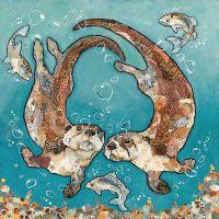 W'otter L'otter Bubbles - Large Print