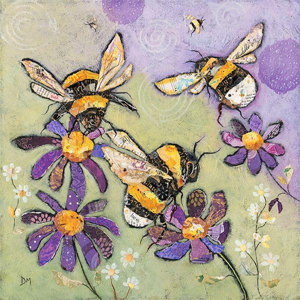 Bumble Bees - Large Art Print
