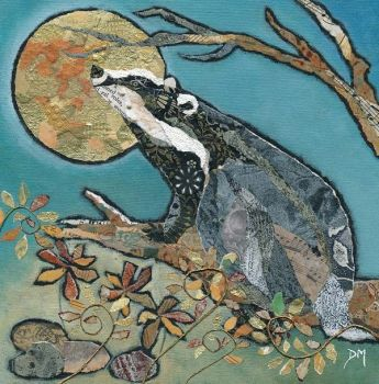 Badger's Moonwish - Medium Print