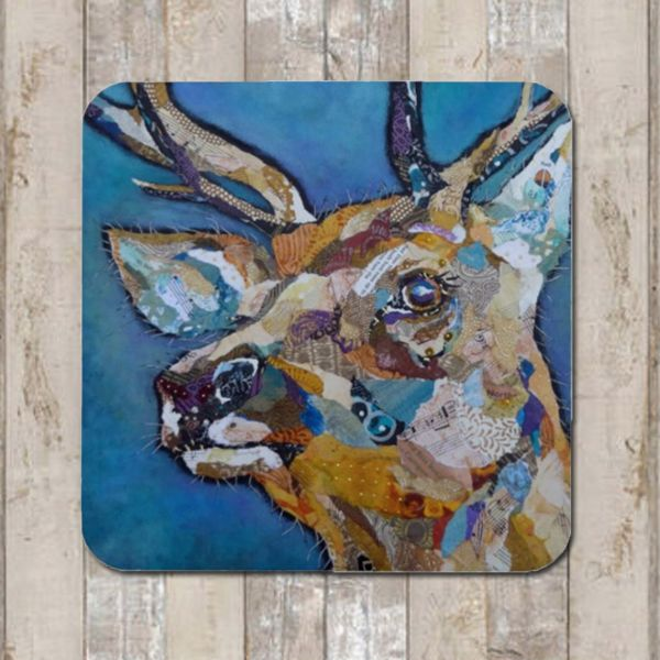 Red Deer Buck II Coaster