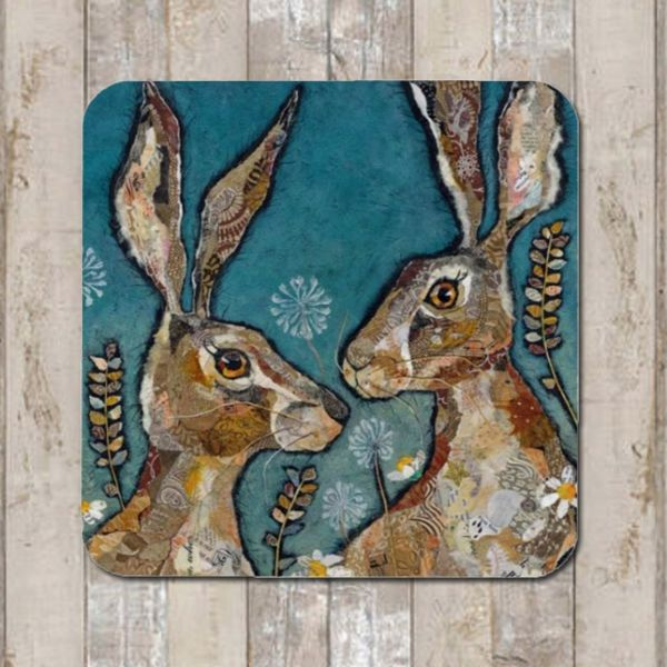 Hare Friends Coaster Tablemat Placemat