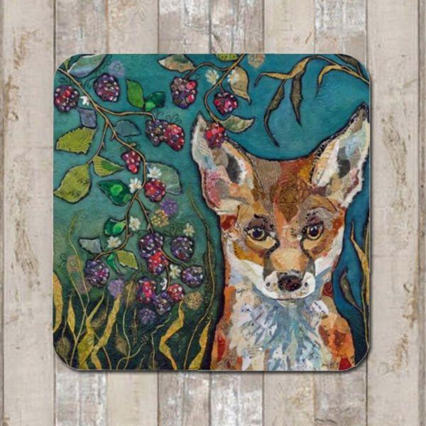 Fox & Brambles Coaster