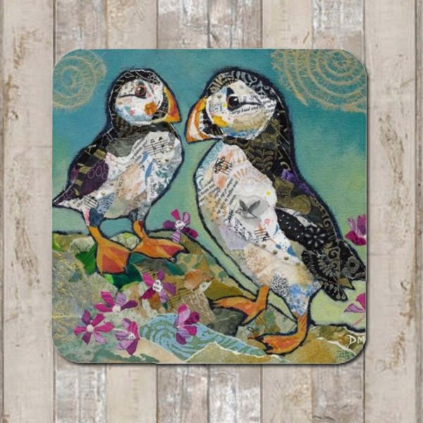 Puffin Friends Coaster Tablemat Placemat