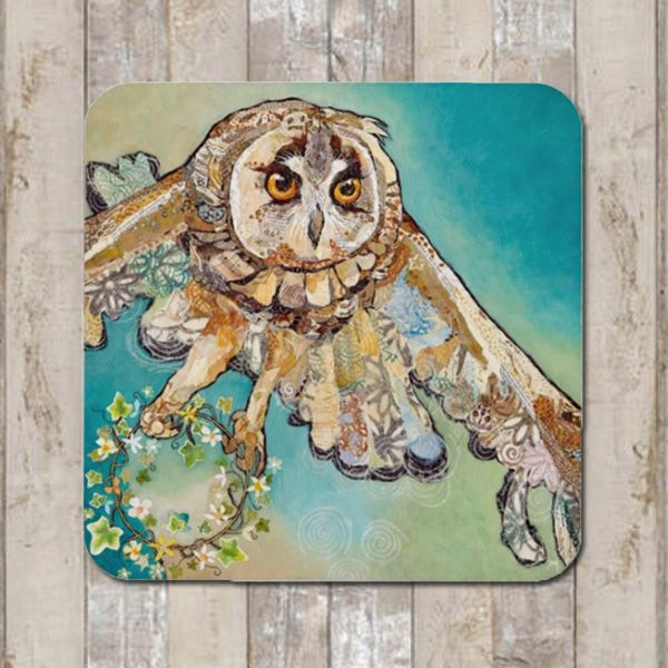Flying Owl Coaster Tablemat Placemat