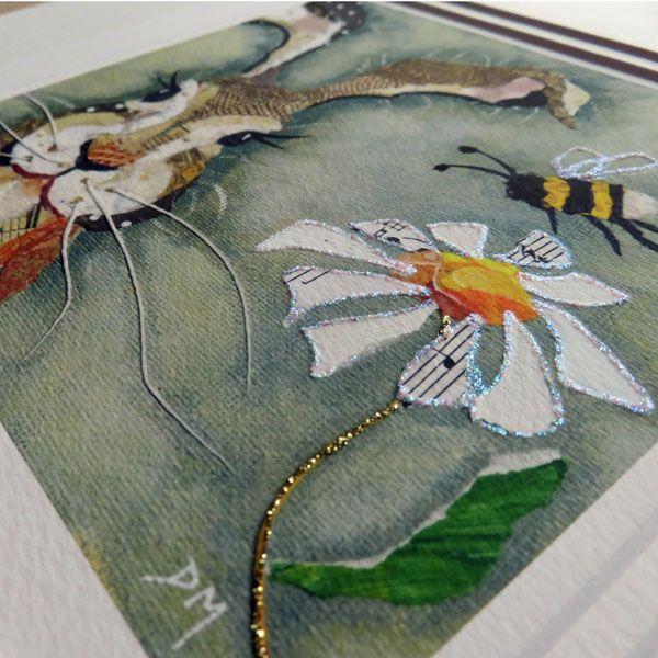 Hare & Bee - Embellished Print