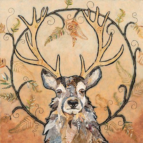 Golden Monarch - Embellished Print