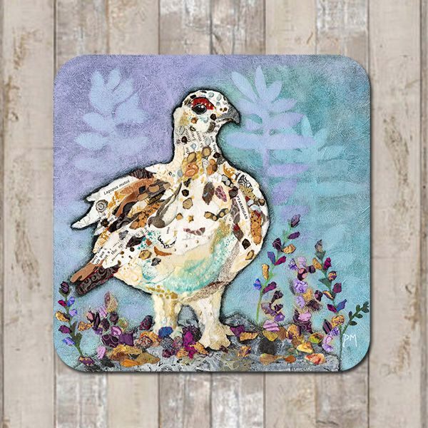 Autumn Ptarmigan Coaster Tablemat Placemat
