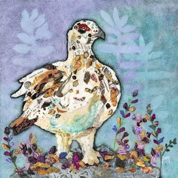 Autumn Ptarmigan - Medium Print