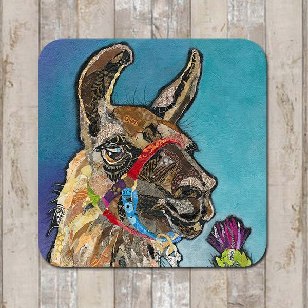 Llama Glen Coaster Tablemat Placemat