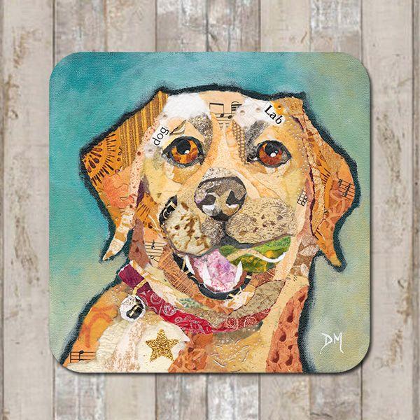 Labrador Coaster Tablemat Placemat