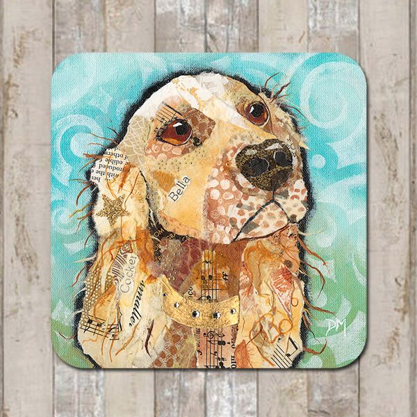 Cocker Spaniel Coaster Tablemat Placemat