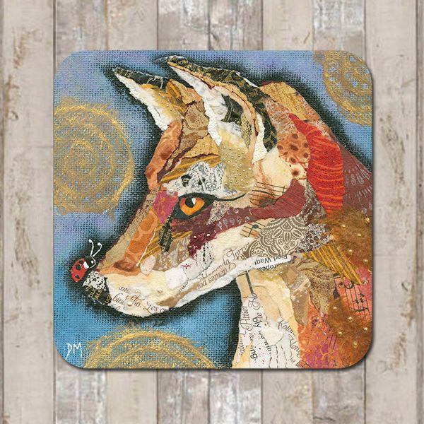 Fox & Ladybird Coaster Tablemat Placemat