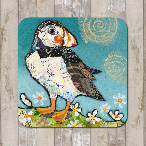 May Puffin Coaster Tableware Placemat