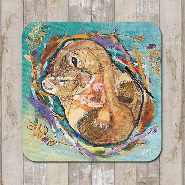 Sleeping Dormouse Coaster Tablemat Placemat