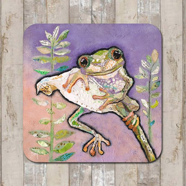 Tree Frog Coaster Tablemat Placemat