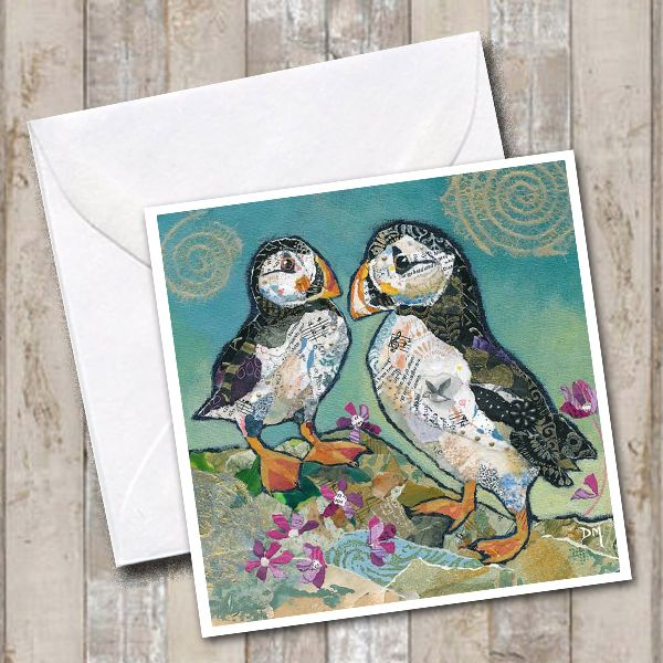 <!-- 001 --> Puffin Pals - Card