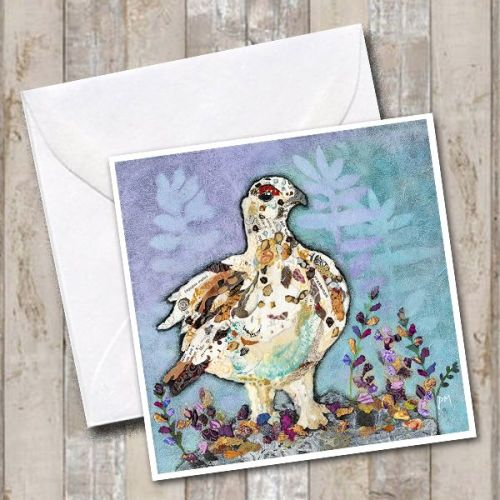 <!-- 002 -->Autumn Ptarmigan Card
