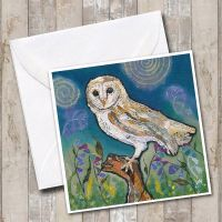 <!-- 006 -->Barn Owl - Card