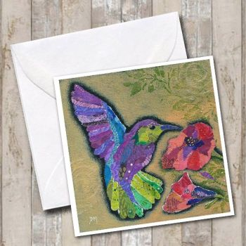 Hummingbird I - Card