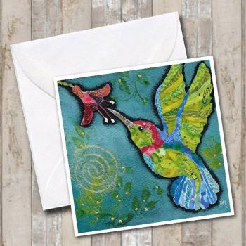 Hummingbird 3 - Card