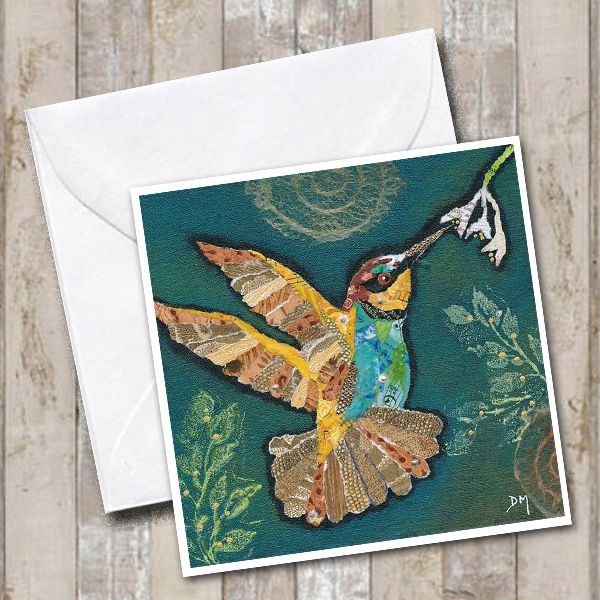 <!-- 008 -->Hummingbird 5 Card