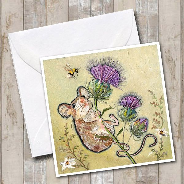 Mouse & Thistle Card
