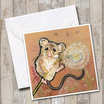 Make a Wish - Mouse Card