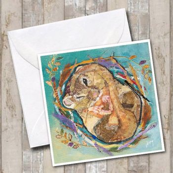 Sleepyhead - Dormouse Card