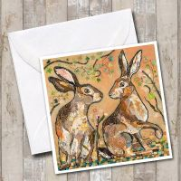 <!-- 001 --> Hare's Looking at You - Card