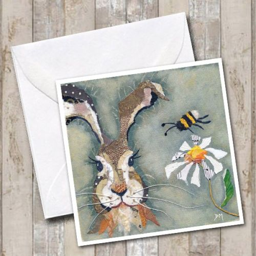 <!-- 005 --> Hare & Bee - Card