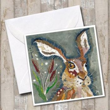 Hare with Crooked Whiskers - Card