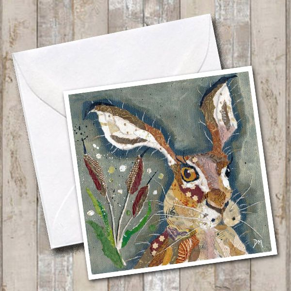 <!-- 008 --> Hare with Crooked Whiskers - Card