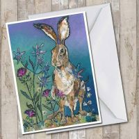 Sitting Pretty - Hare Card