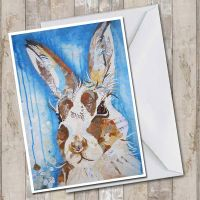 <!-- 023--> Mountain Hare - Card