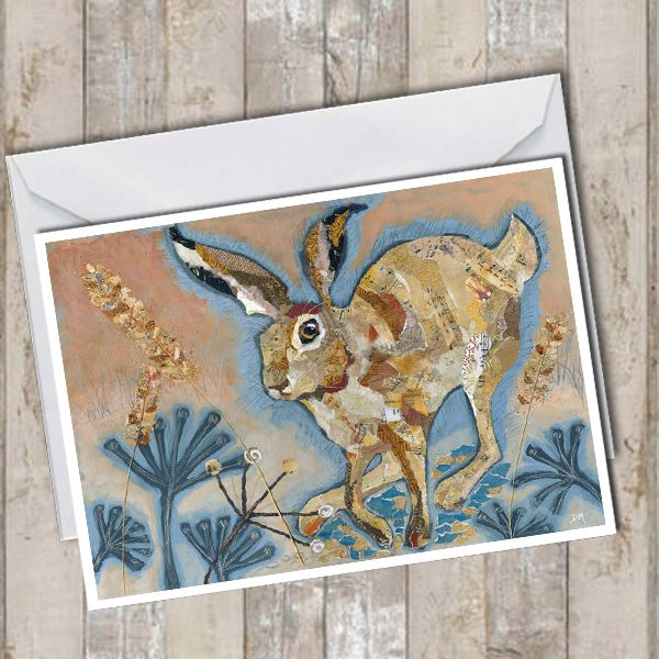 <!-- 022 --> Hare on the Run - Card