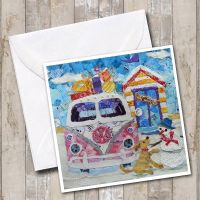 Off Home for Winter -  Campervan Card
