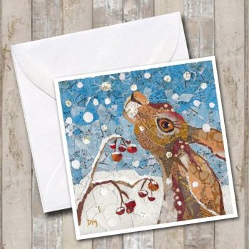 Touched by Winter - Card